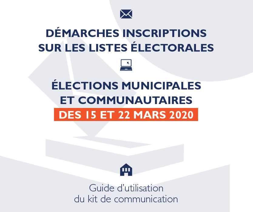 Modalités inscriptions listes électorales
