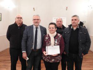 Read more about the article Médaille d'honneur pour Florence